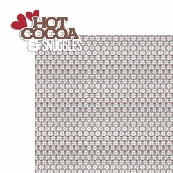 Hot Cocoa: Cocoa and Snuggles 2 Piece Laser Die Cut Kit