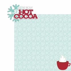 Hot Cocoa: Fresh Snow 2 Piece Laser Die Cut Kit