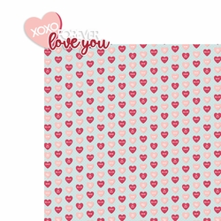 Hugs and Kisses: Forever 2 Piece Laser Die Cut Kit