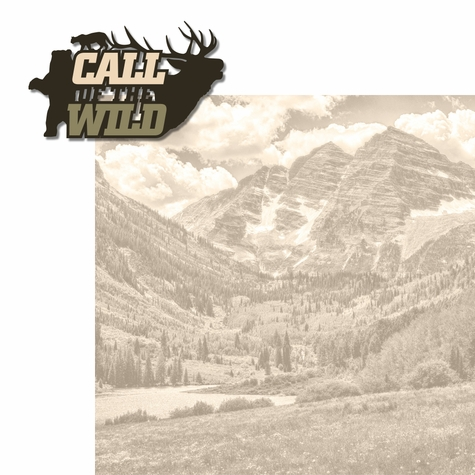 Hunting: Call of the Wild 2 Piece Laser Die Cut Kit