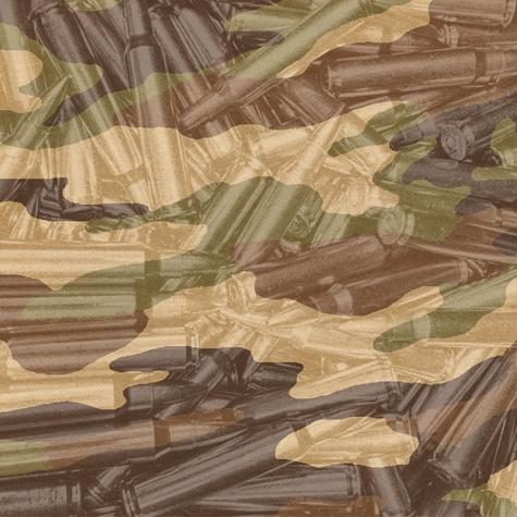 Hunting: Camo and Ammo 12 x 12 Paper