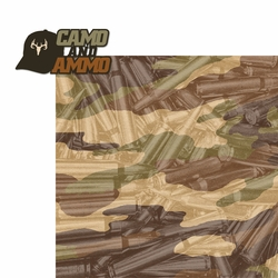 Hunting: Camo and Ammo 2 Piece Laser Die Cut Kit