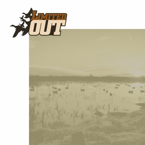 Hunting: Limited Out 2 Piece Laser Die Cut Kit
