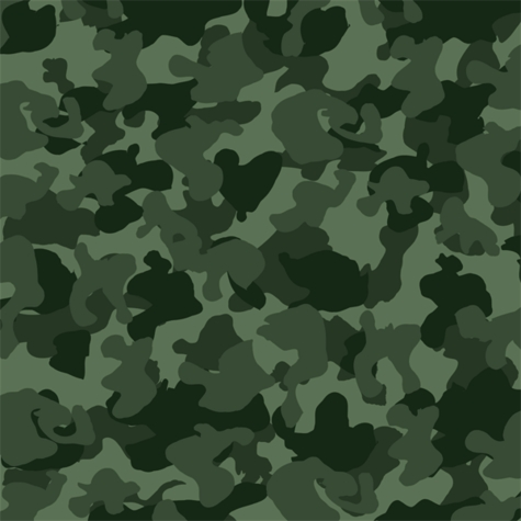 Hunting Season: Green Camo 12 x 12 Paper