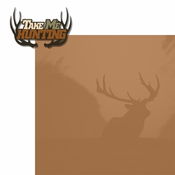 Hunting: Take Me Hunting 2 Piece Laser Die Cut Kit