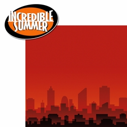 Incredibles: Incredible Summer 2 Piece Laser Die Cut Kit