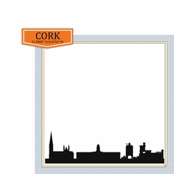 Ireland: Cork 2 Piece Print and Cut Kit
