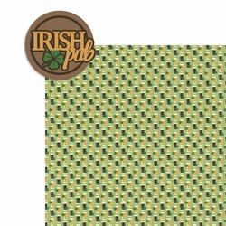 Ireland: Irish Pub 2 Piece Print and Cut Kit