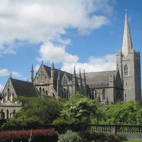 Ireland: St. Pats Cathedral 12 x 12 Paper