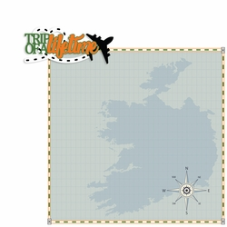 Ireland: Trip of a Lifetime 2 Piece Print and Cut Kit