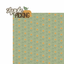 It's Finally Fall: Apple Picking 2 Piece Laser Die Cut Kit