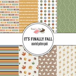 It's Finally Fall Assorted 12 x 12 Paper Pack