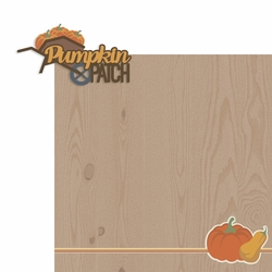 It's Finally Fall: Pumpkin Patch 2 Piece Laser Die Cut Kit