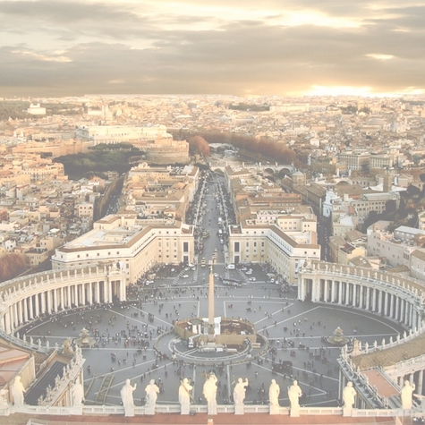 Italian Adventures: Vatican City 12 x 12 Paper