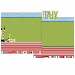 Italy 3 Piece Laser Die Cut Kit