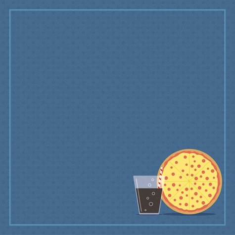Italy: Better Pizza In Italy 12 x 12 Paper