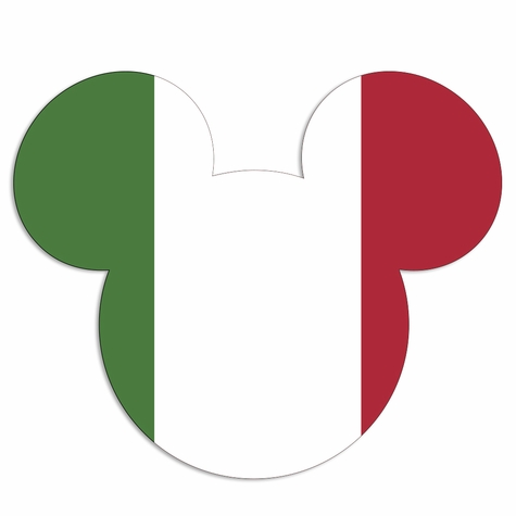 Italy mouse head Laser Die Cut