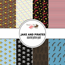 Jake and Pirates Assorted 12 x 12 Paper Pack