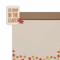 Jump in the leaves 2 Piece Laser Die Cut Kit