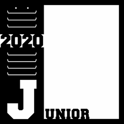 Junior 2020 12 x 12 Overlay Laser Die Cut