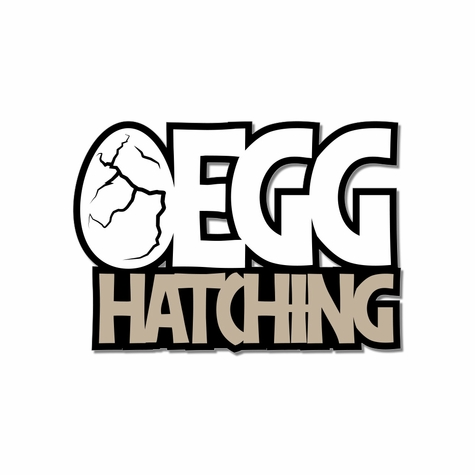 Jurassic: Egg Hatching Laser Die Cut