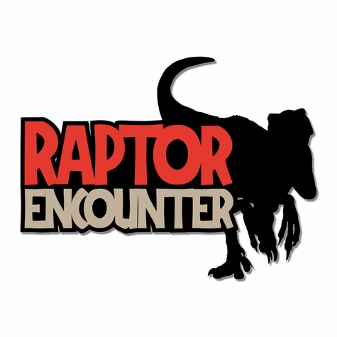 Jurassic: Raptor Encounter Laser Die Cut