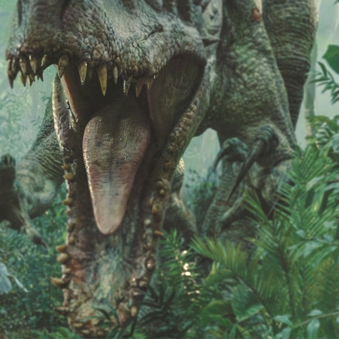 Jurassic World: If Something Chases You… Run! 12 x 12 Paper