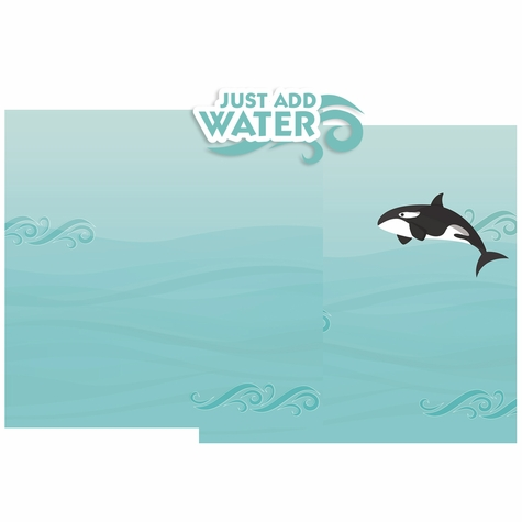 Just Add Water Double Page Layout Kit