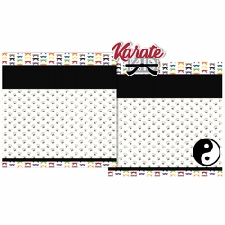 Karate 3 Piece Laser Die Cut Kit