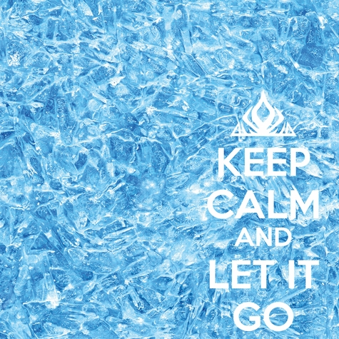2SYT Keep Calm and Let it Go 12 x 12 Paper