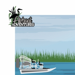 Key West: Airboat adventures 2 Piece Laser Die Cut Kit
