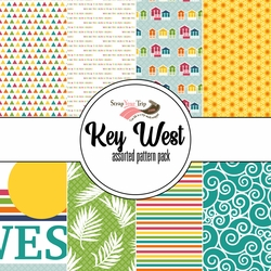 Key West Assorted 12 x 12 Paper Pack