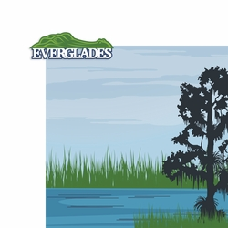 Key West: Everglades 2 Piece Laser Die Cut Kit