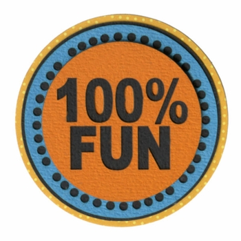 Kids: 100% Fun Laser Die Cut