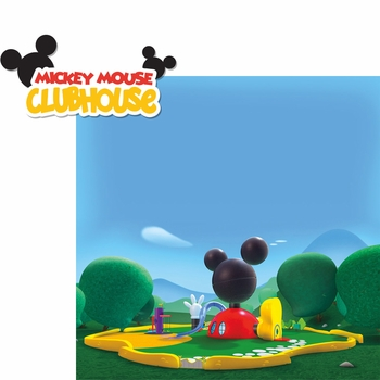 Kids Shows: Mickey Mouse Clubhouse 2 Piece Laser Die Cut Kit