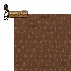 Kokopelli 2 Piece Laser Die Cut Kit