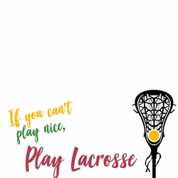 LaCrosse: Play 12 x 12 Paper