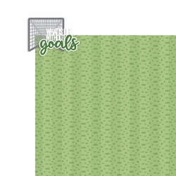 Lacrosse: What is Life without goals 2 Piece Laser Die Cut Kit