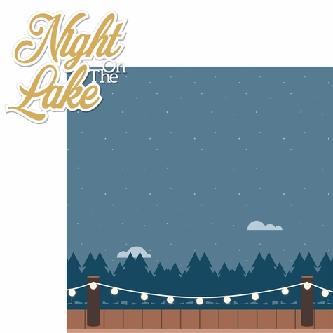 2SYT Lake Life: Night On The Lake 2 Piece Laser Die Cut Kit