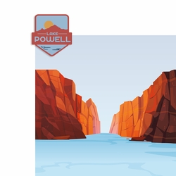Lake Powell 2 Piece Laser Die Cut Kit
