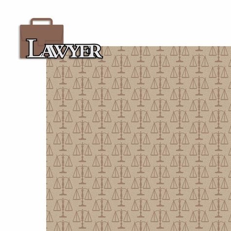Lawyer: Lawyer 2 Piece Laser Die Cut Kit