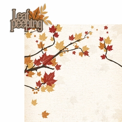 Leaf Peeping 2 Piece Laser Die Cut Kit