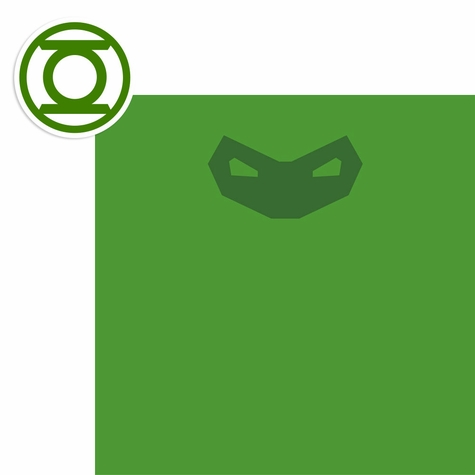 2SYT League of Justice: Green Lantern 2 Piece Laser Die Cut Kit