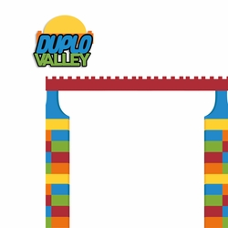Legoland: Duplo Valley 2 Piece Laser Die Cut Kit