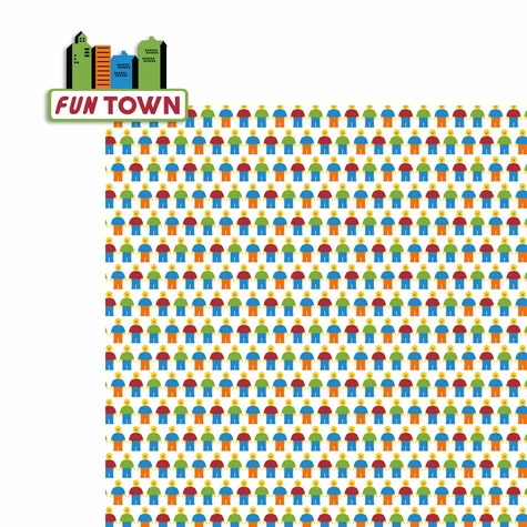 Legoland: Fun Town 2 Piece Laser Die Cut Kit