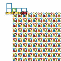 Legoland: Imagination Zone 2 Piece Laser Die Cut Kit