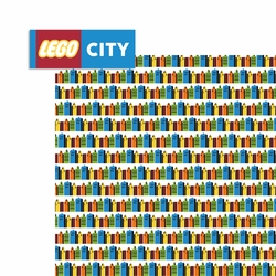 Legoland: Lego City 2 Piece Laser Die Cut Kit