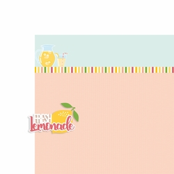 Lemonade: Fresh Lemonade 2 Piece Laser Die Cut Kit