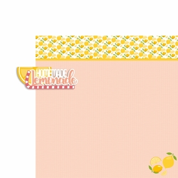 Lemonade: Homemade Lemonade 2 Piece Laser Die Cut Kit