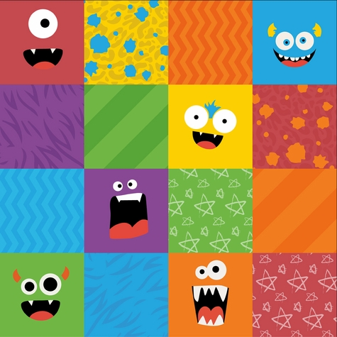 Lil Monsters: Cards 12 x 12 Paper